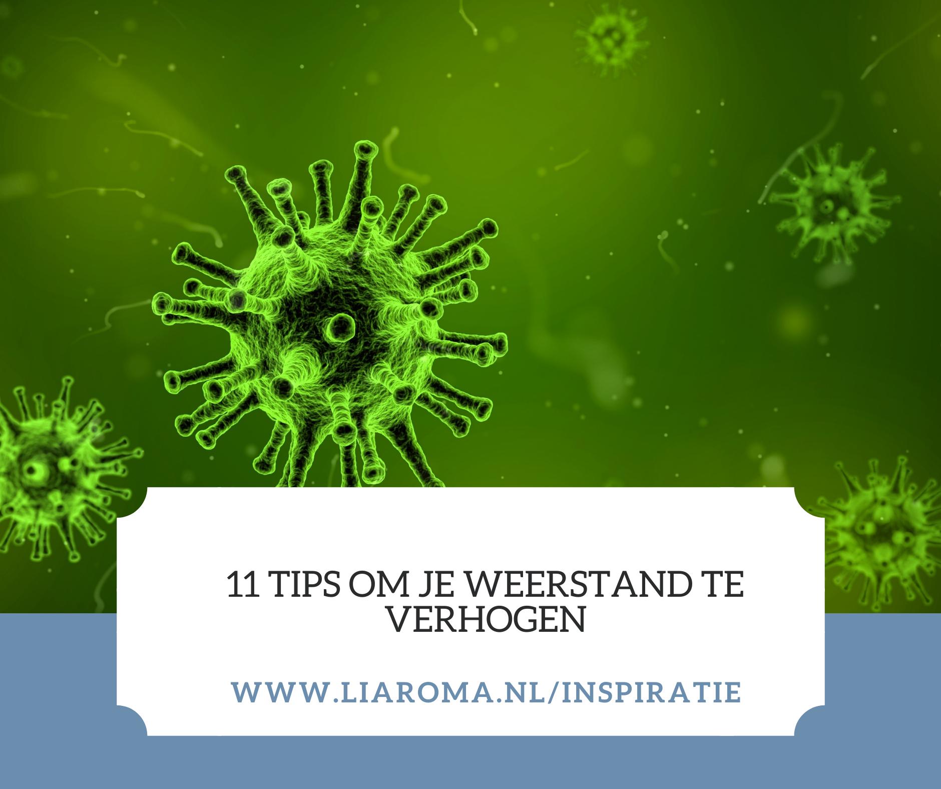 11 Tips je weerstand te verhogen